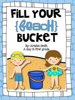 Fill your beach bucket! {An end of school craftivity!}