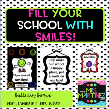 Fill your schools with smiles