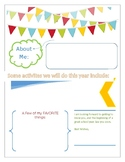Fillable Welcome Letter to Students