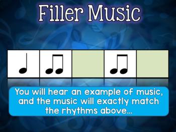 Filler Music!