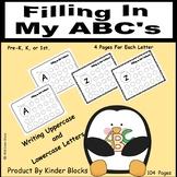Filling In My ABCs - Alphabet Practice