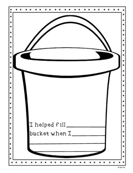 Filling Our Buckets