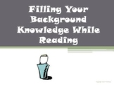 Filling Your Background Knowledge Reading Strategy PowerPoint