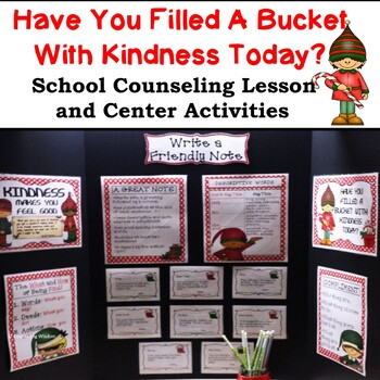 Kindness at Christmas: Bucket Filling Writing Center