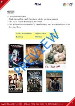Film C1 Advanced Lesson Plan For ESL