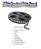 Film Evaluation Card
