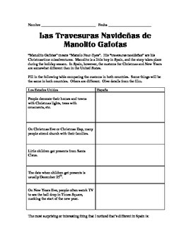 Film Guide: Las Travesuras Navideñas de Manolito Gafotas Spanish movie