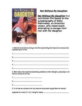 Film Guide Not Without My Daughter