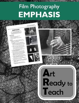 Film Photography Lesson - EMPHASIS - Directions & Samples