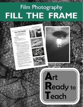 Film Photography Lesson - FILL THE FRAME - Directions & Samples