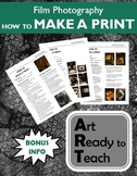 Film/Darkroom Photography Lesson - HOW TO MAKE A PRINT - D