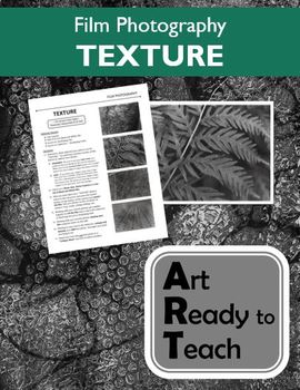 Film Photography Lesson - TEXTURE - Directions & Samples
