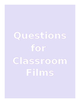 Film Questions - Unit  (To Kill a Mockingbird, Star Wars, Schindler's List)