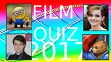 Film Quiz 2017 –  movie, news, activity, lesson
