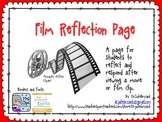 Film Reflection Page