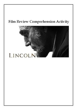 Film Review Comprehension Activity Lincoln