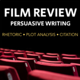 Write Your Own Film Review - Fun Persuasive Writing Assign