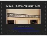 Movie Theme Alphabet Line A-Z