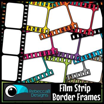 Film Strip Frames Clip Art