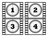 Film Strip Numbers 1-100