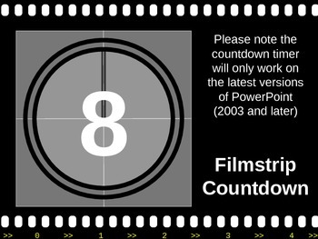 Film Strip PowerPoint timer!
