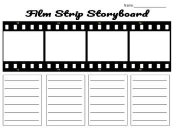 Film Strip Storyboard