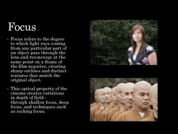 Film Studies - 11 Camera Focus