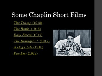 Film Studies - 6 Modern Times