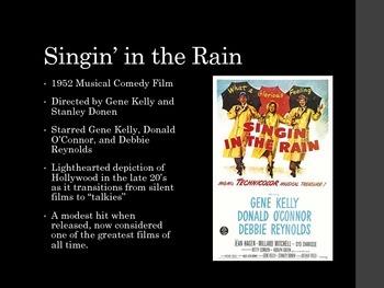 Film Studies - 9 Singin' in the Rain
