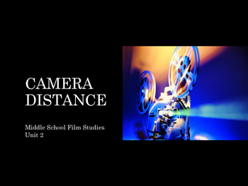 Film Studies - Camera Distance (Middle School Edition)