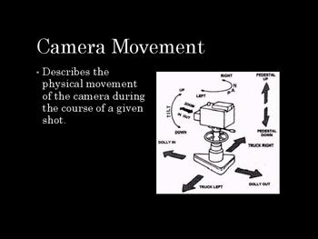 Film Studies - Camera Movement (Middle School Edition)