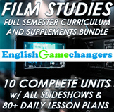 Film Studies DIRECTOR'S CUT: 2 Products in One! All Presentations & Lesson Plans