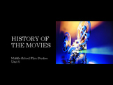 Film Studies - History of the Movies (Middle School Edition)