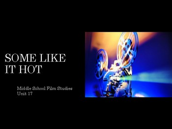 Film Studies - Some Like it Hot