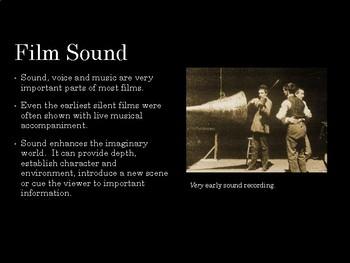 Film Studies - Sound Design (Middle School Edition)