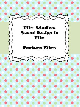 Film Studies: Sound Design in Wall-E