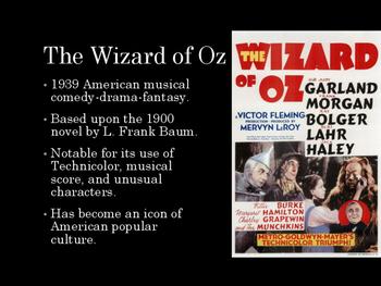 Film Studies - The Wizard of Oz