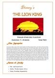 Film Study: Disney's 'The Lion King'