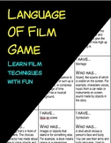 Film Techniques Game: A Game to Learn the Language of Film