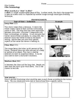 Film Terminology Glossary Guide
