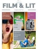 Film and Literature- Complete Unit Plan with Lesson Plans, Worksheets, & Finals
