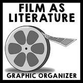 FREE Film as Literature Graphic Organizer Analysis Sheet for ANY movie!