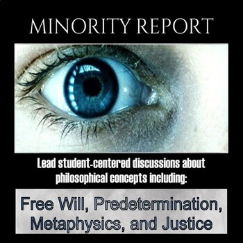 Film study: Minority Report (test and discussion questions)