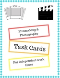 Filmmaking & Photography Task Cards