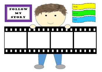 Filmstrip Reflection and Thinking Activity