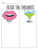 Filter the Thoughts worksheet
