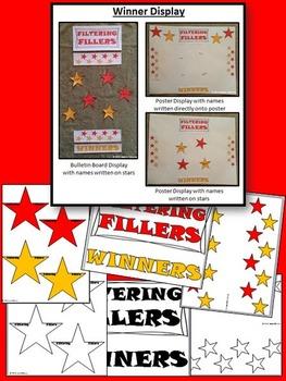 Fillers Oral Presentation Game