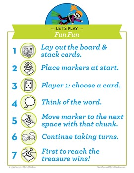 Fin Fun Mixed Vowel Word Families Phonics Game - Words Their Way Game