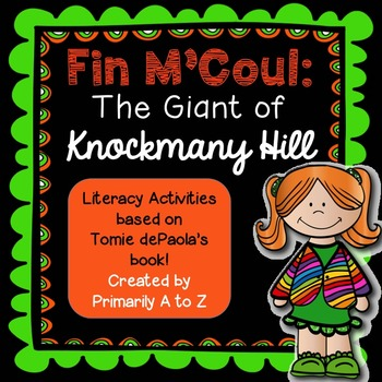 Fin M'Coul Comprehension Activities