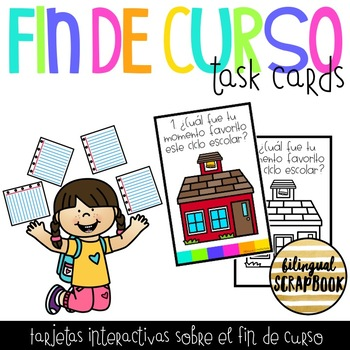 Fin de curso (End of The Year Task Cards in Spanish)